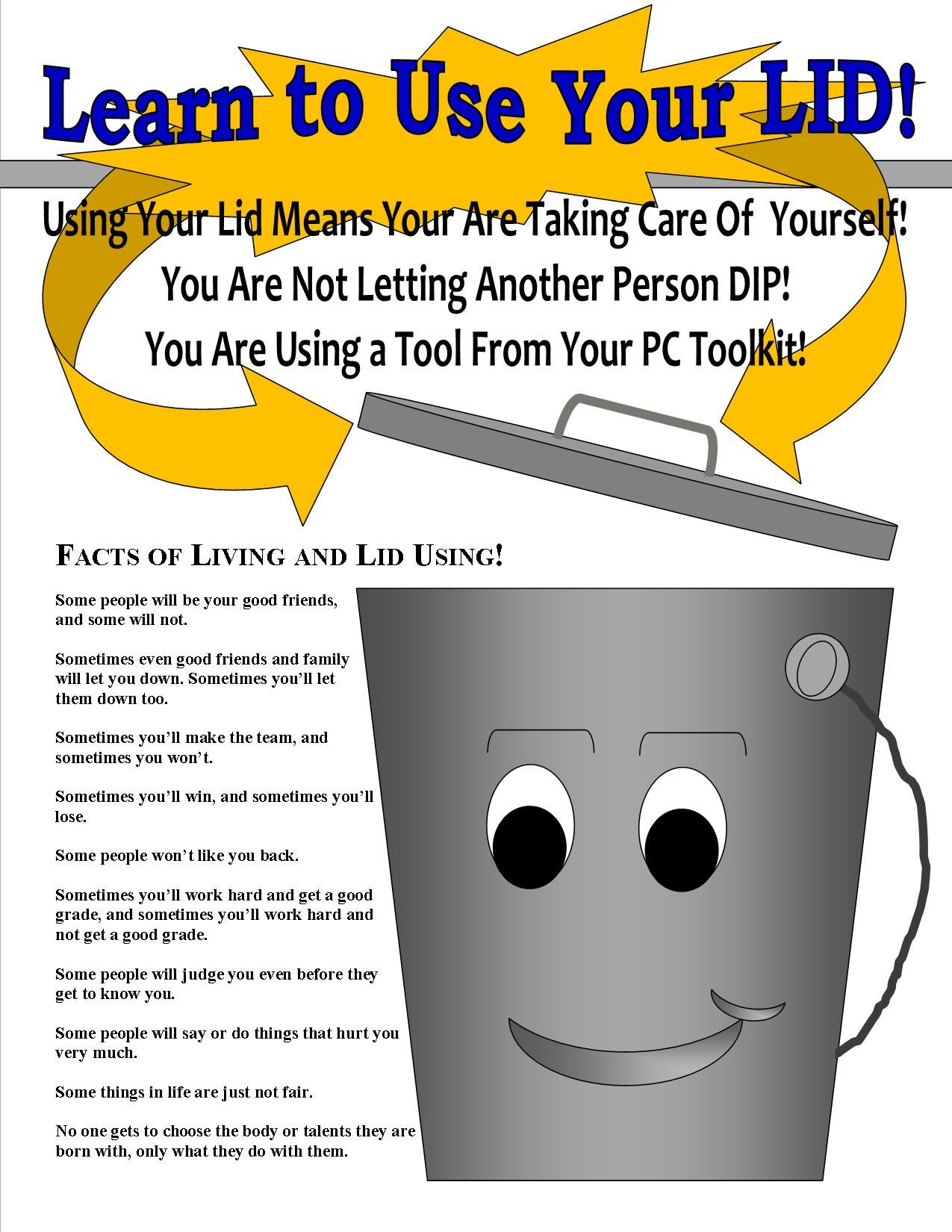 A Fun Add Onto The Classic Bucket Filling Lesson