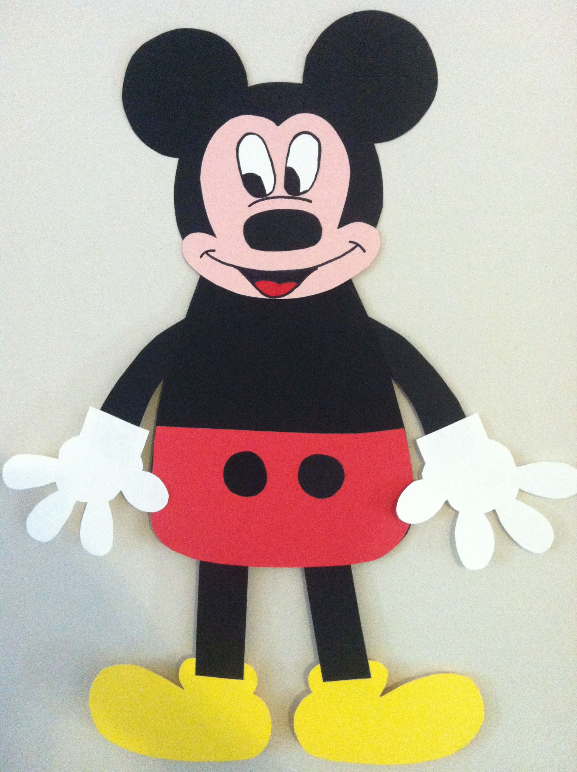 Mickey Mouse Project For The Kids At School This Week
