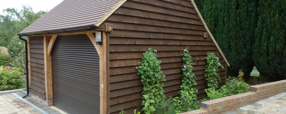 1Bay Oak Frame Garages Chippy Timber Kits in 2020