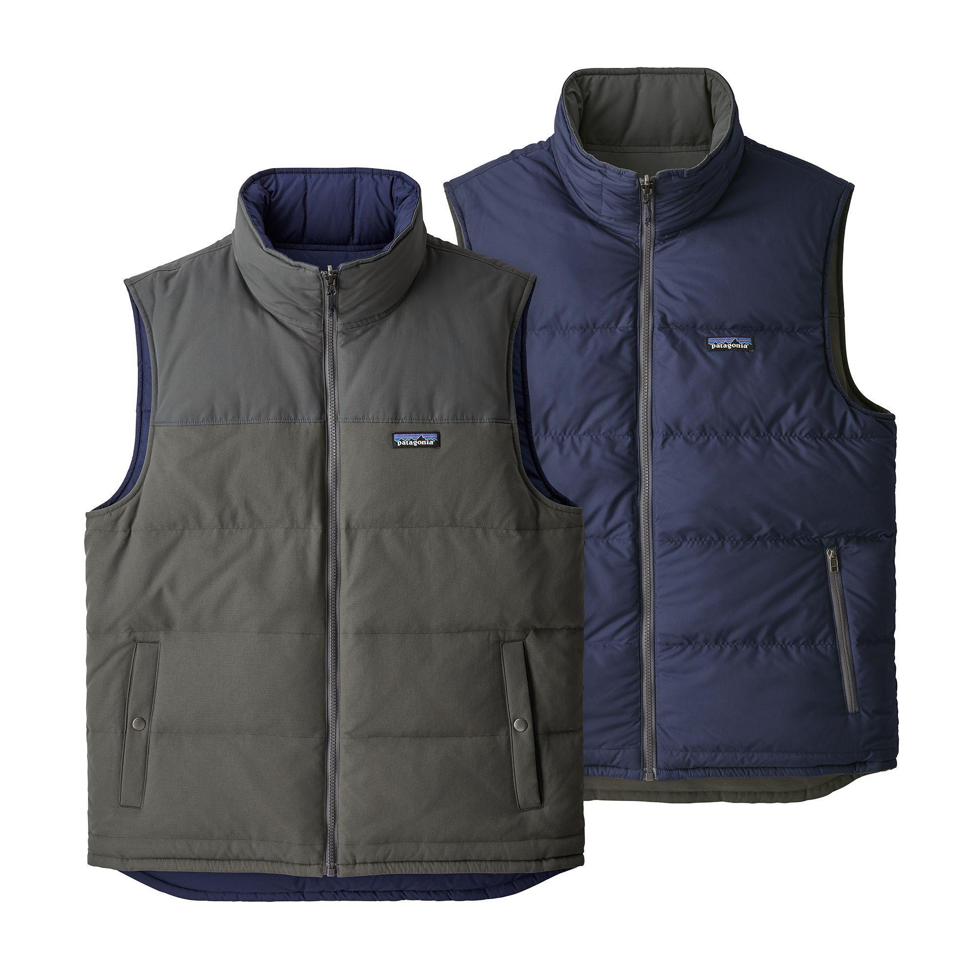 Patagonia Men's Reversible Bivy Down Vest | Veste ...