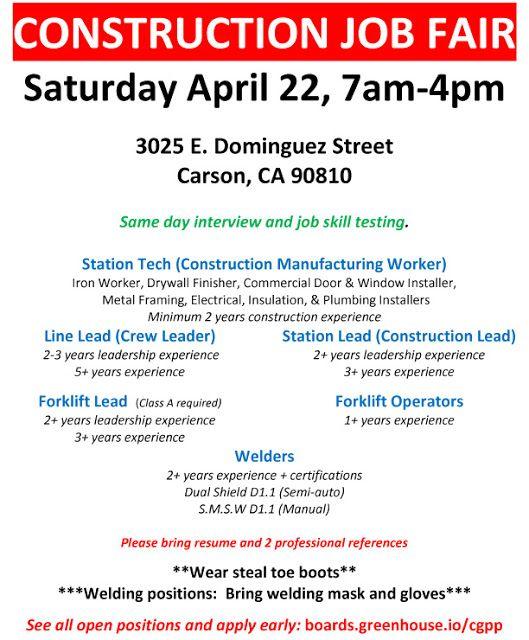 Military Civilian Hot Jobs Events And Helpful Information For Veterans Seeking Civilian Careers Job Fair In Carson Saturday April Job Fair Job Career Job