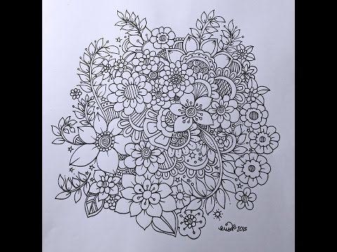Slow Doodle Zentangle Inspired Freestyle Doodling Zen Doodle Art Doodles Zentangles Zentangle Tutorial