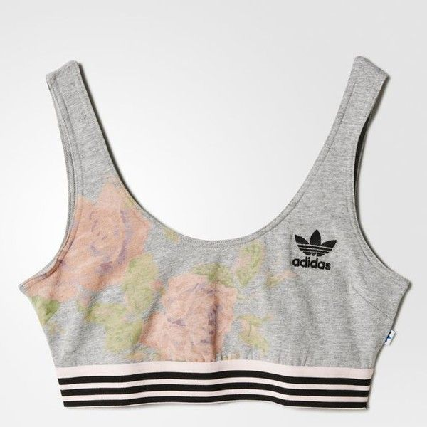 adidas rose bra top