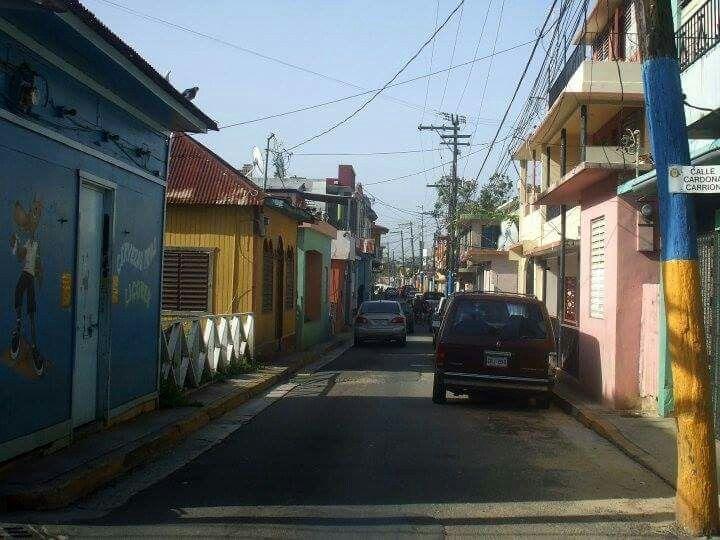 Calle mercado, Aquadilla