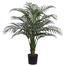 "3'4"" Areca Silk Palm Tree w/Pot (pack of 2) - LPE340-GR"