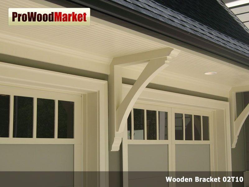 Wooden Cedar Bracket 02T10 | Brackets | Pinterest | Garage doors ...