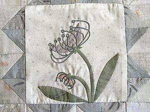 FLOWER BLOCK Японский пэчворк! Квилт из блоков. Блок №11. | Ярмарка Мастеров - ручная работа, handmade