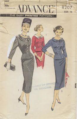 Vintage Pattern - Advance 8207
