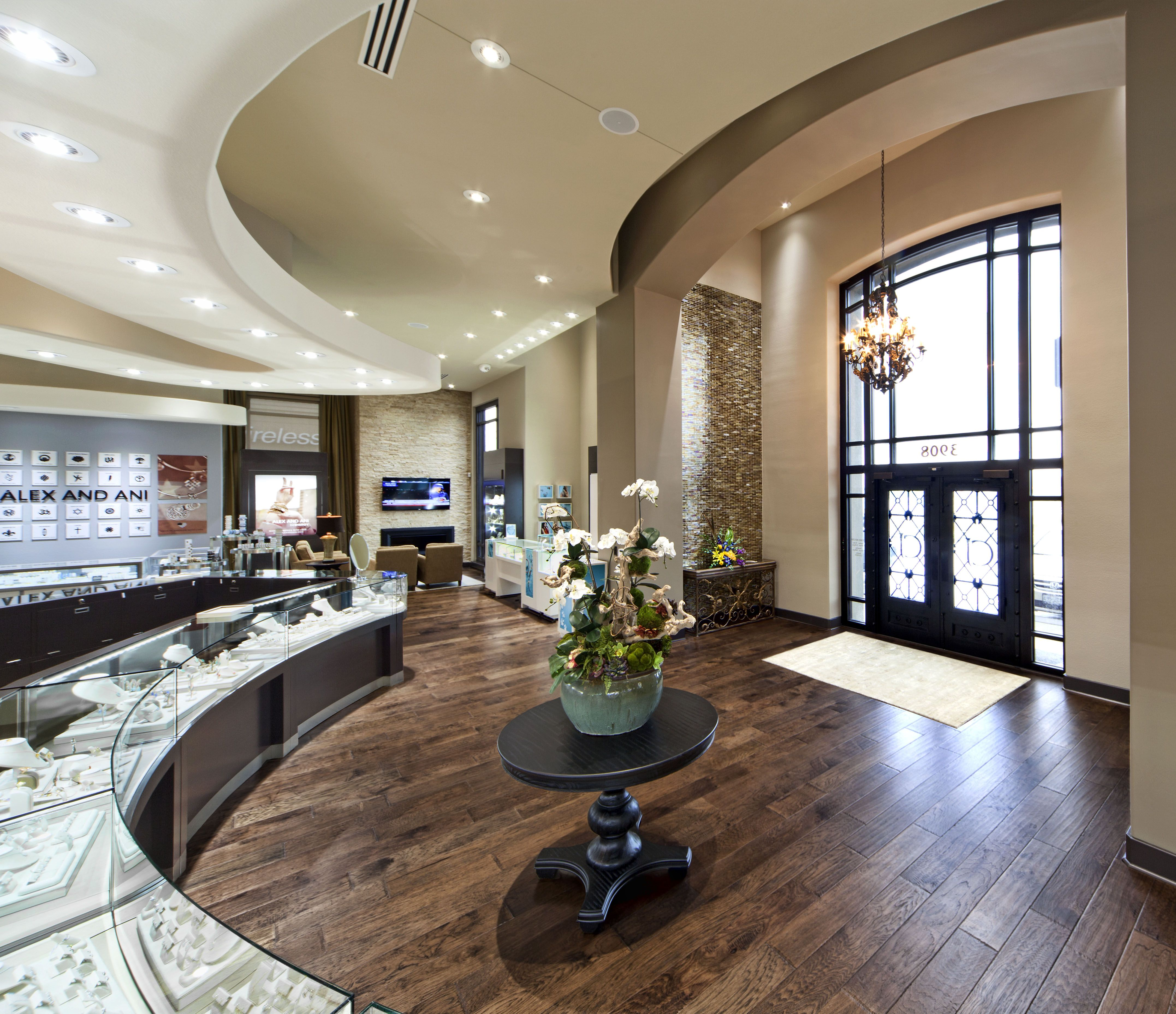 Crocker's Jewelers Manufacture & Design of Store Fixtures by Artco Group  Proudly Made in America.