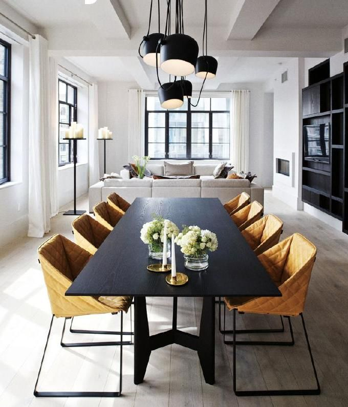 Home Nz August September 2015 Elegant Dining Room Modern Dining Room Dining Table Black
