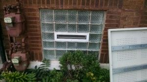 Vacant Property Steel Security Window Covers Before Photo Window Coverings Vacant Property