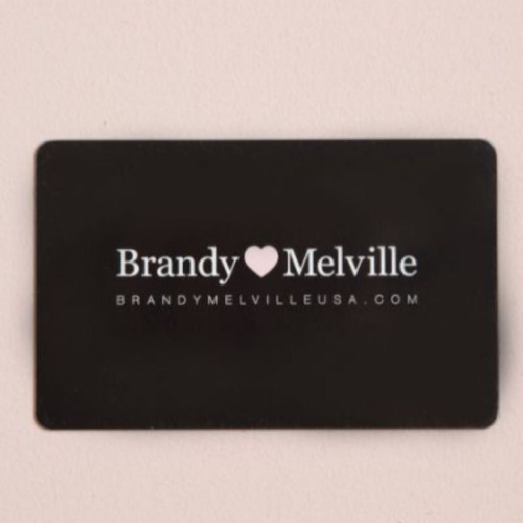 Photo of Brandy Melville gift card | Giftry