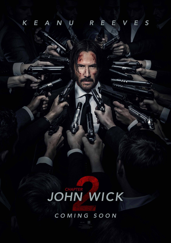 John Wick 2 : bande-annonce et poster avec un max de flingues !!!