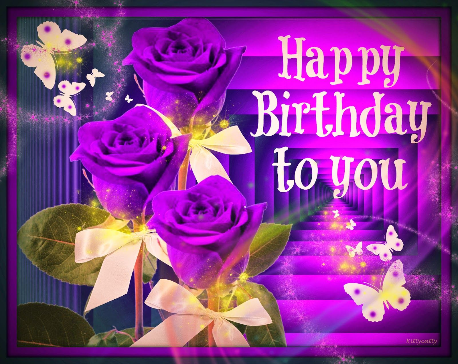 Felicitaciones De Cumpleaños Con Flores: Tarjetas De Cumpleaños Con Flores Para Fondo De Pantalla