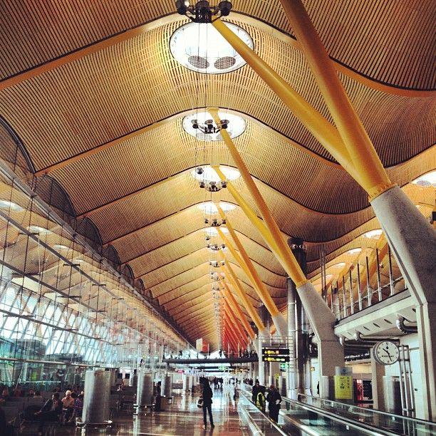 Madrid Airport Richard Rogers Wood Airport Design