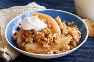 Caramel-Pear Crisp recipe - I may make just to see if it smells like Sept Scent of the month!