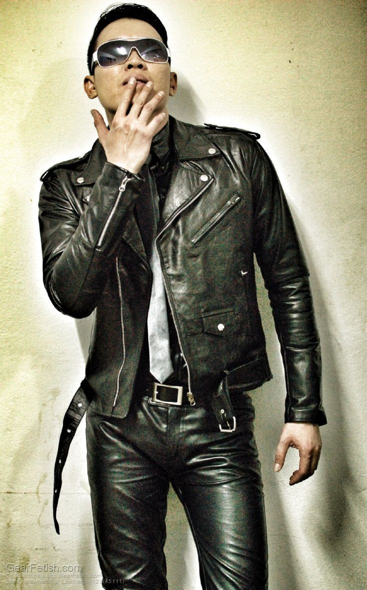 Gay leather guys