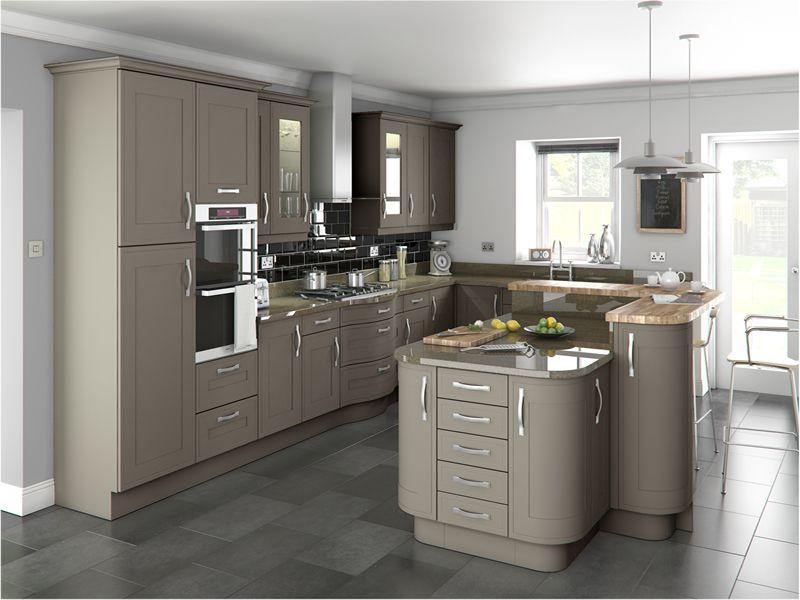 Best Shelley Stone Grey Gorgeous Greige New Kitchen Designs 400 x 300