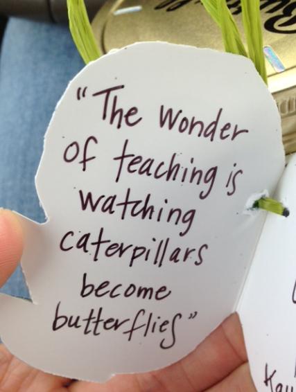 Teacher Gift Idea   Butterfly in a Jar