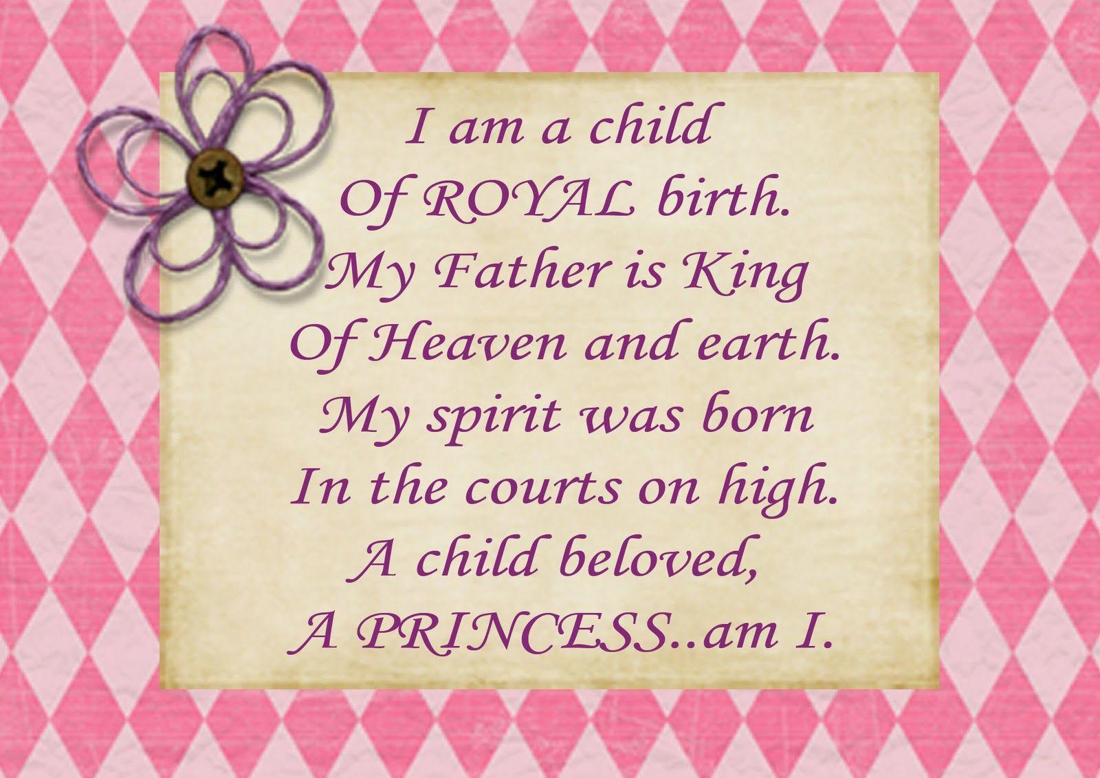 I AM Gods Princess Poems   personal use i am unsure of the