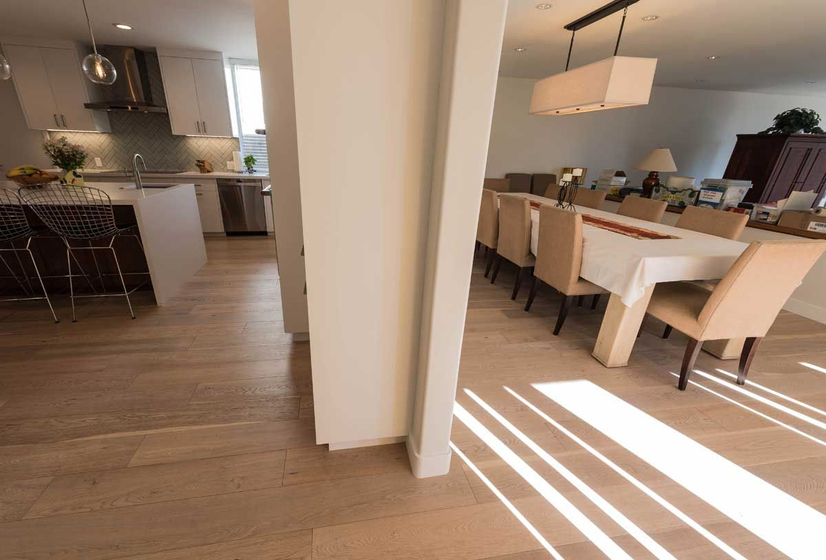 If your hardwood floors have sustained damage due to