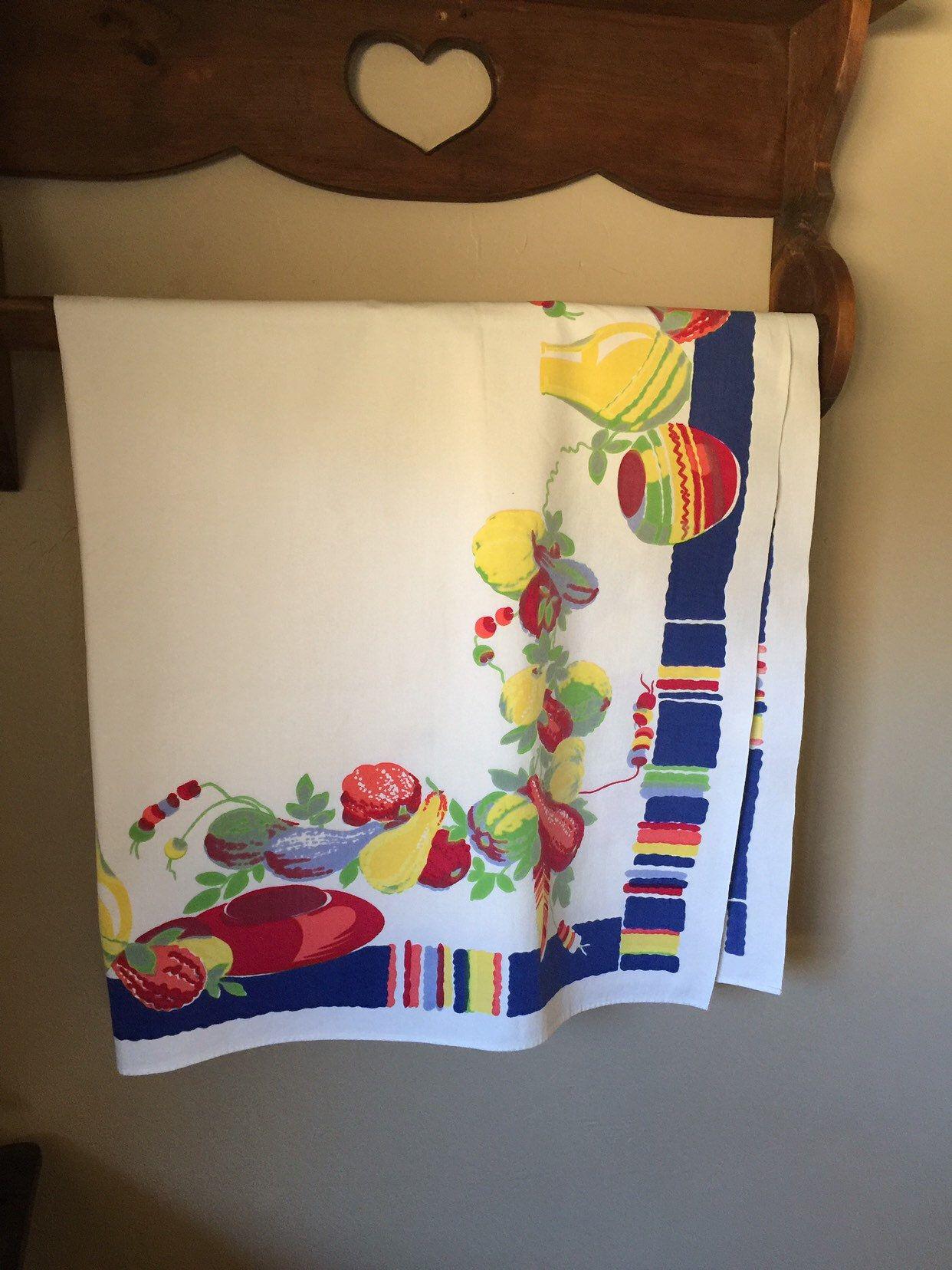 Wilendur Southwest Tablecloth Etsy Border Design Southwestern