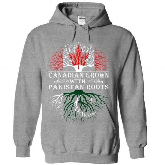 Canadian Grown with Pakistan Roots T Shirts, Hoodies. Get it here ==► https://www.sunfrog.com/States/Canadian-Grown-with-Pakistan-Roots-5590-SportsGrey-Hoodie.html?41382 $42.5
