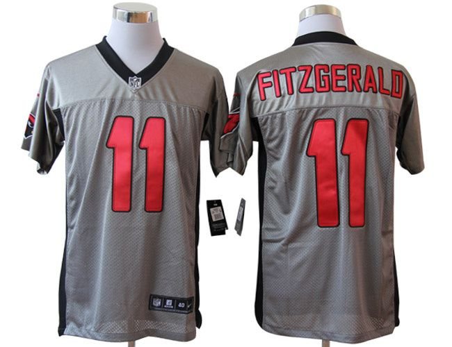 pretty nice d9790 cb3fd Nike Arizona Cardinals #11 Fitzgerald shadow Elite grey ...