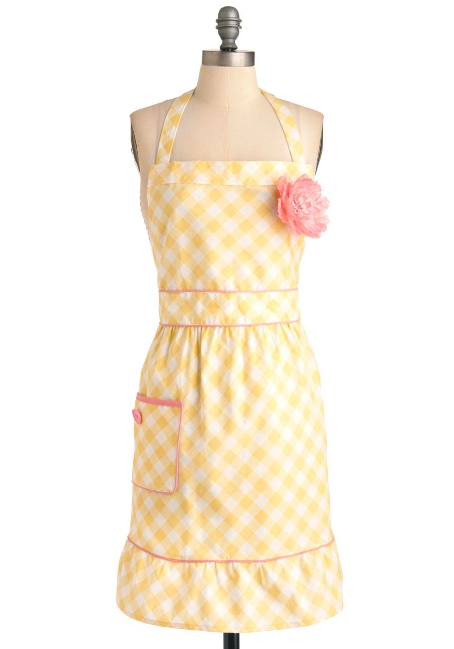 Rockabilly Küchenzubehör I Love Your Jersey Dress In Olive Pinterest Apron Gingham And