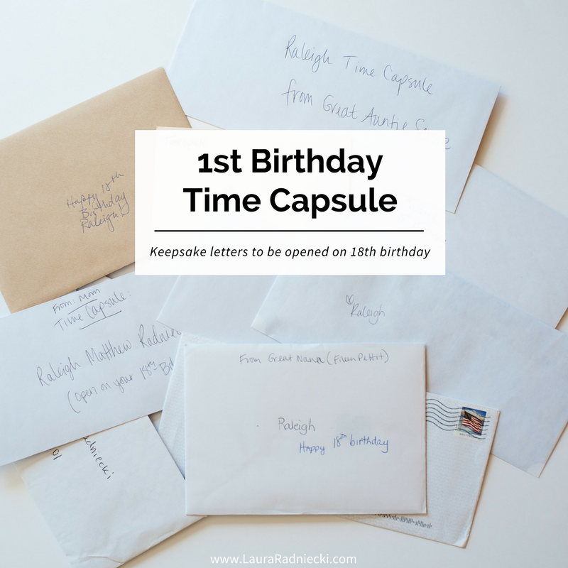 A Time Capsule On Raleigh S First Birthday Time Capsule