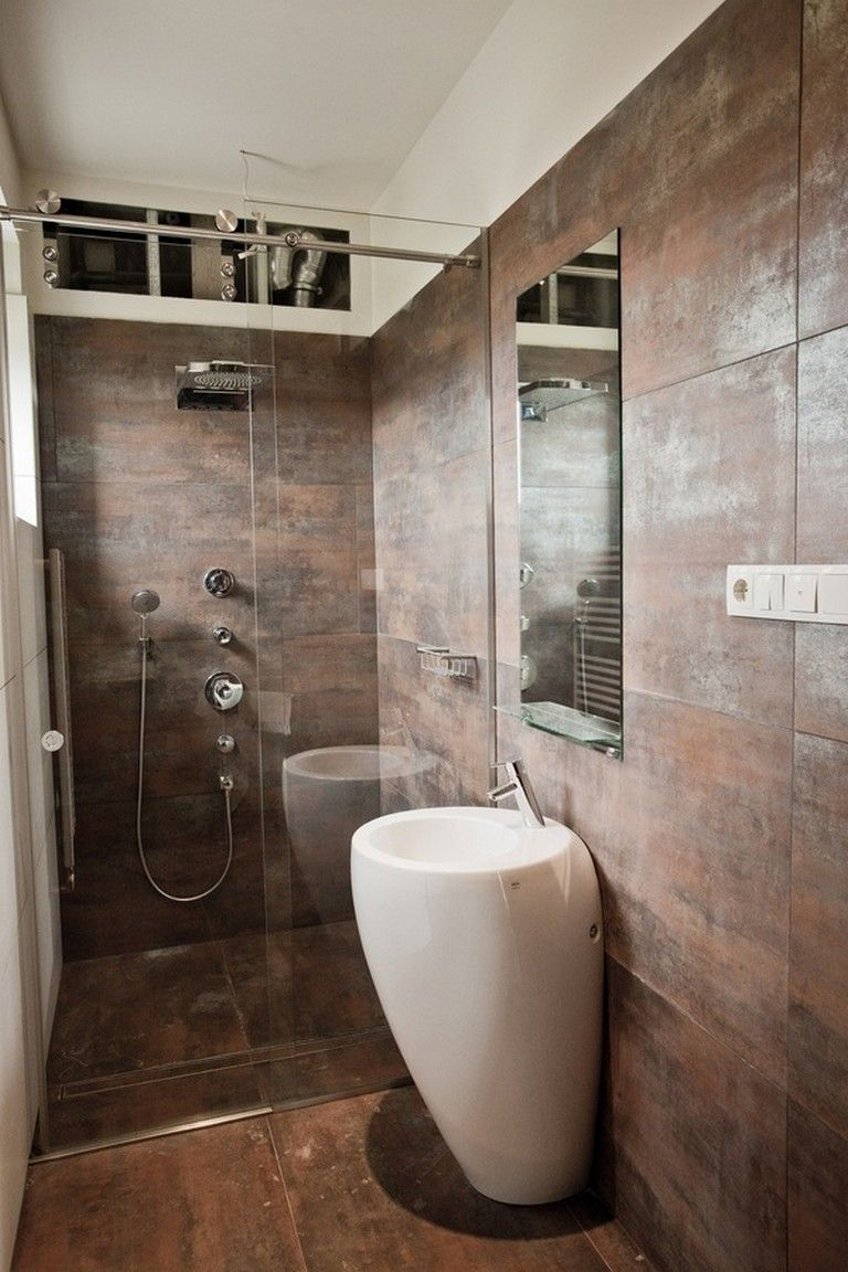 45 Good Small Bathroom Design Examples Small bathroom