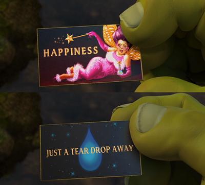 Shrek Fairy Godmother Business Card Shrek Fiona Shrek Fairy
