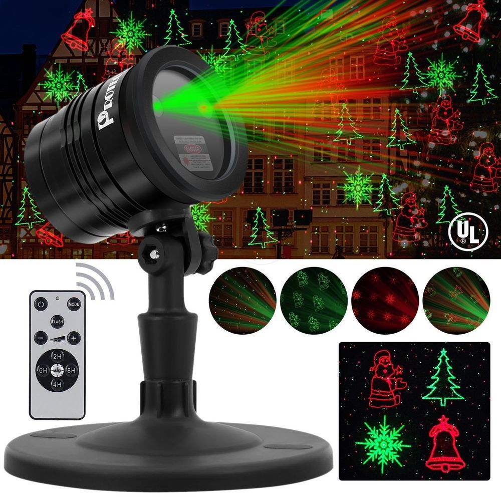 Proteove Christmas Laser Lights Projector Ip65 Waterproof With Rf Wireless Rem Proteove Christmas Light Projector Laser Lights Projector Laser Lights