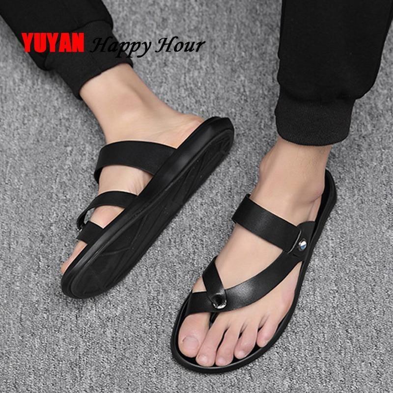 Leather shoes men, Mens sandals beach