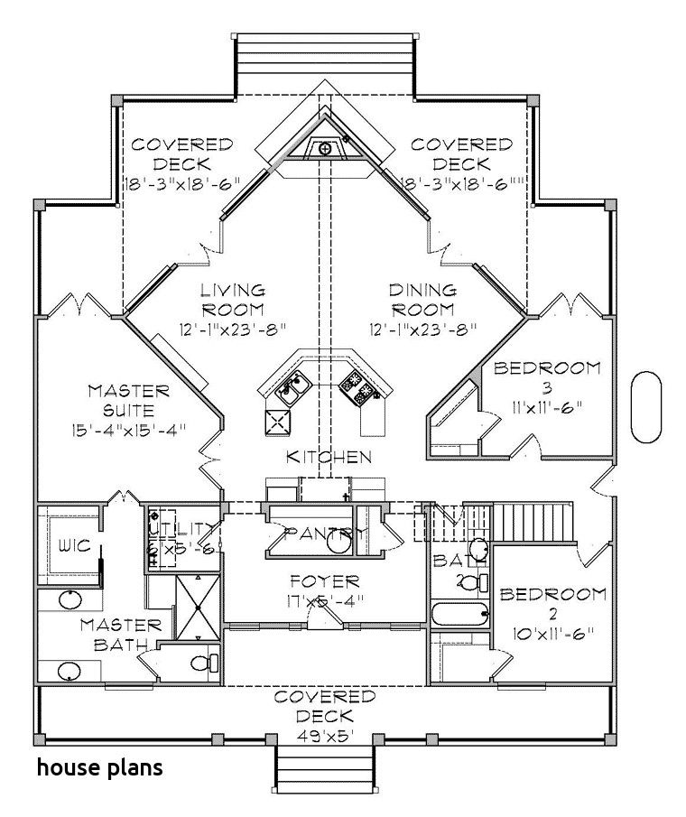 Water View House Plans In 2020 Coastal House Plans House Plans House Floor Plans