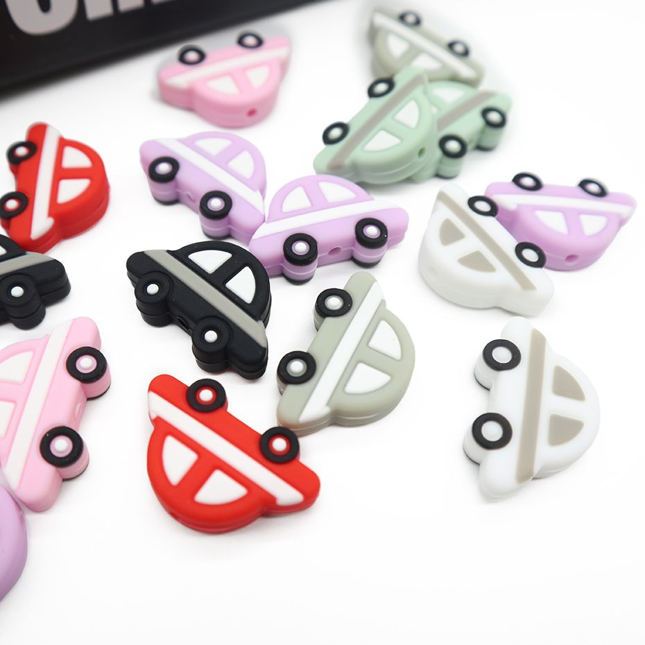Car silicone teether baby teether baby teething toys