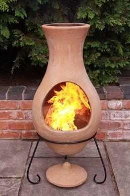 Four Elements Clay Chiminea Air Medium Chimineashop Co Uk Chiminea Clay Chiminea Clay Fire Pit