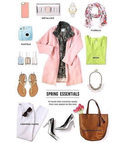 Spring Essentials to transition your wardrobe!