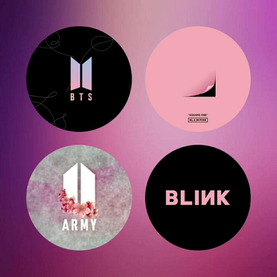 My Very Own Version Of Bts Blackpink And Fan Names Blackpink And Bts Pink Drawing Black Pink Kpop