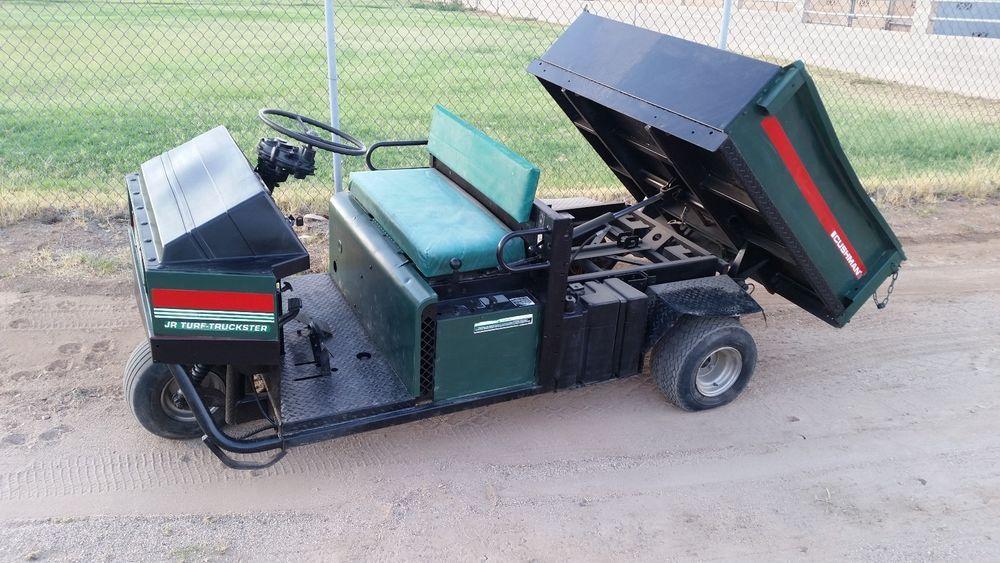 Cushman  Turf Truckster Hydraulic DUMP BED gator deere utility vehicle