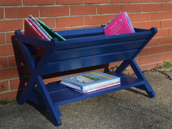 THE ORIGINAL Book Caddy / Book Manger / Kid\'s Bookshelf / X Book ...
