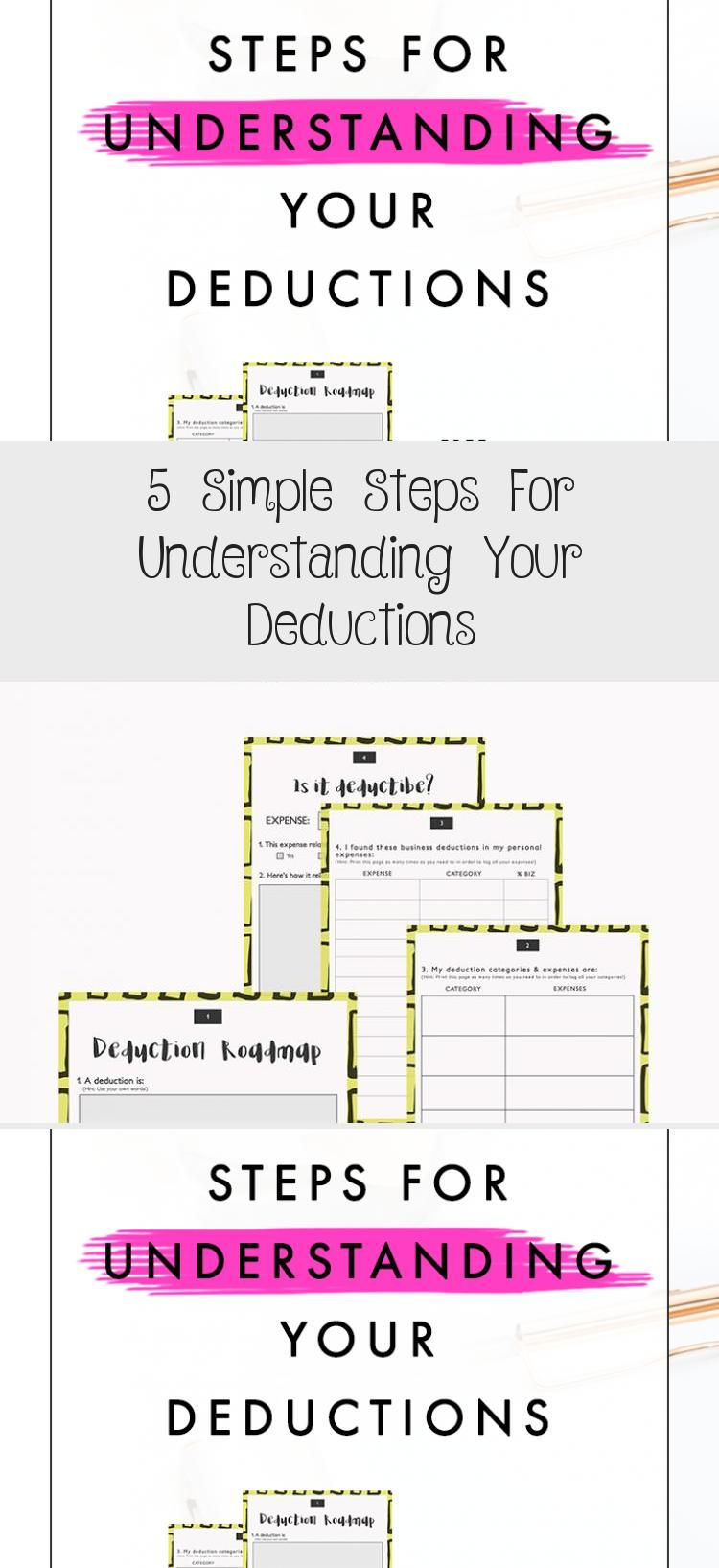 Having Self Employment Deduction Overload Learn 5 Easy Steps To Understanding Your Tax Write Offs Plus You Ge Tax Write Offs Understanding Yourself Deduction