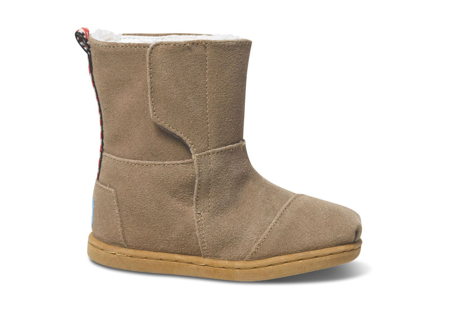 Sand Suede Tiny Nepal Boots #TOMS Give Back To School Contest