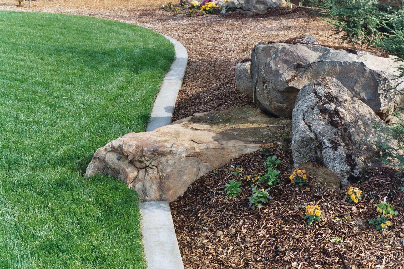 inspiring landscaping boulder #7