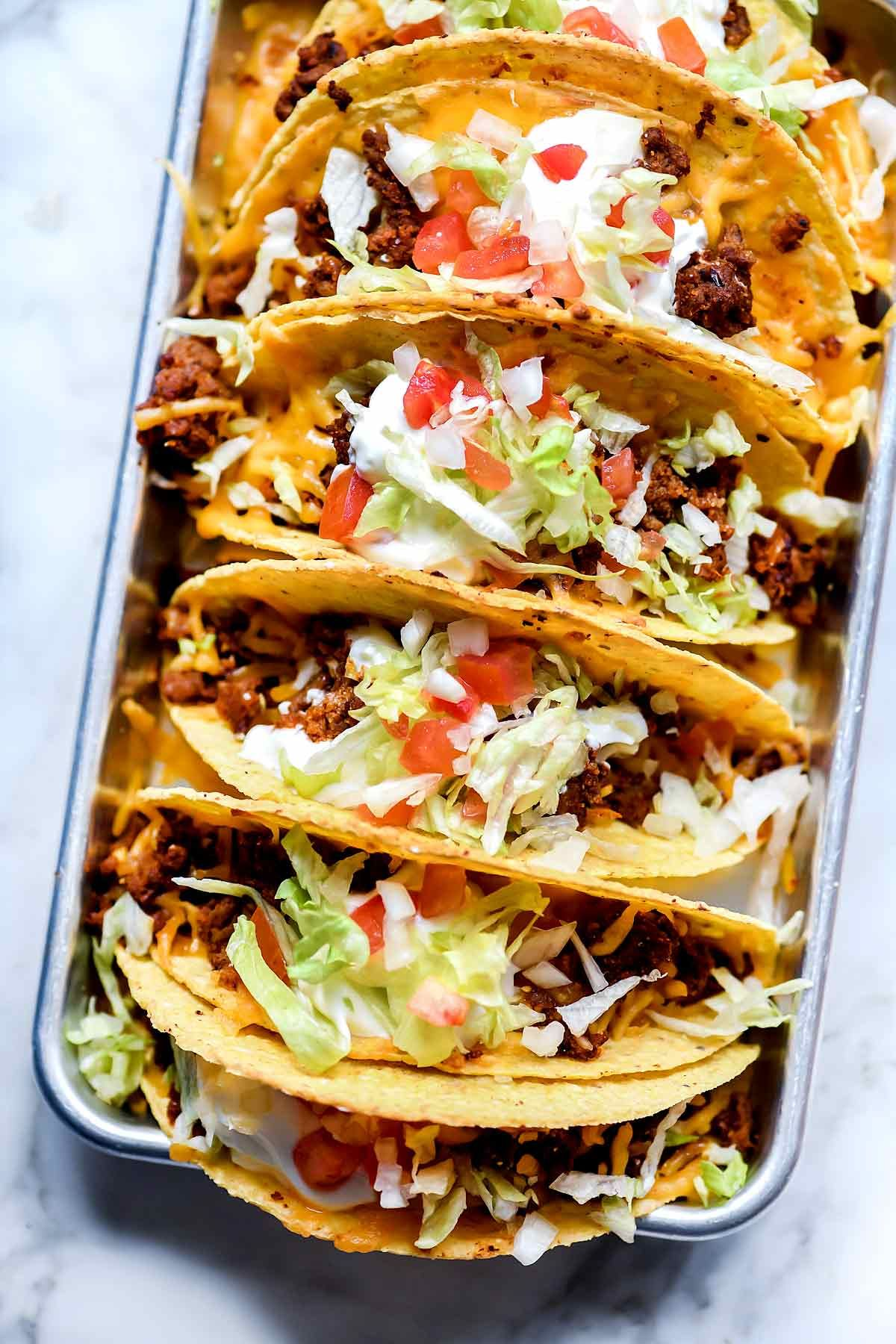 This Is How To Make A Beef Tacos Recipe That Tastes Just Like Taco Bell Tacos For An Easy Taco Tuesday Dinner At Ho Foodie Crush Taco Recipes Ground Beef Tacos