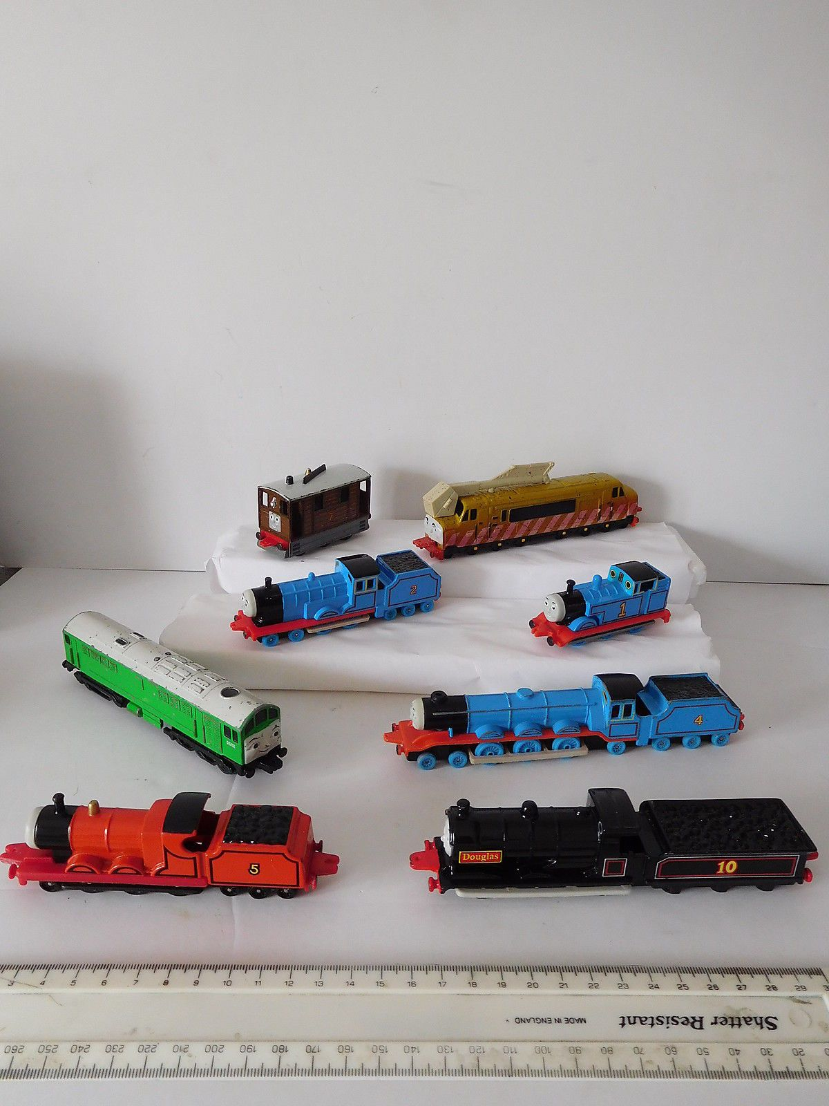 thomas the tank train collection by ertl view more on the link job lot of thomas diecast ertl train engines view more on the