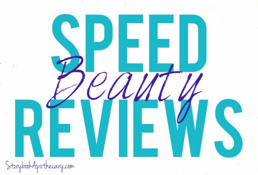 Speed Beauty Reviews for Products I've Tried Lately! - StorybookApothecary.com #cosmetics #skincare #makeup #lipstick #skinbalm #naturalbeauty #hair