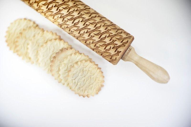 Rouleaux à pâtisserie gravés , Golden retriever