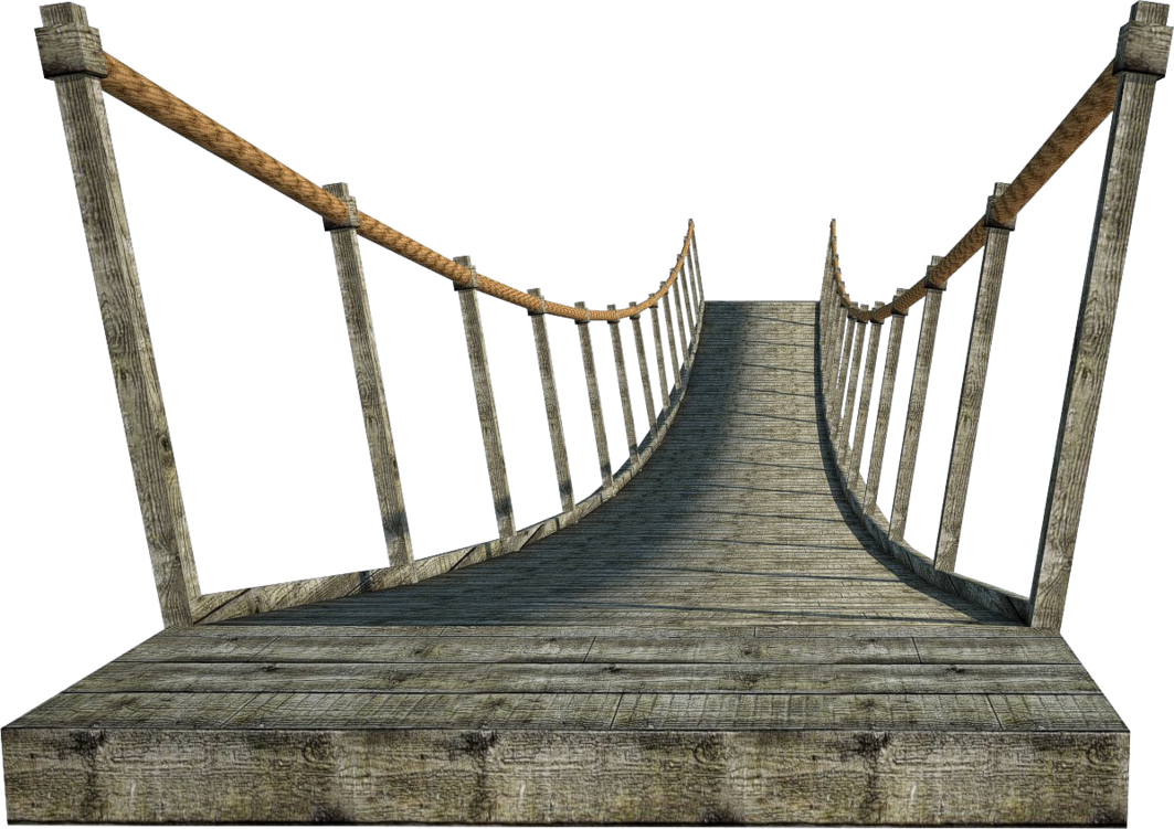 Wooden Bridge 2 | Suspension Bridge 2 | PNG by fumar-porros on DeviantArt
