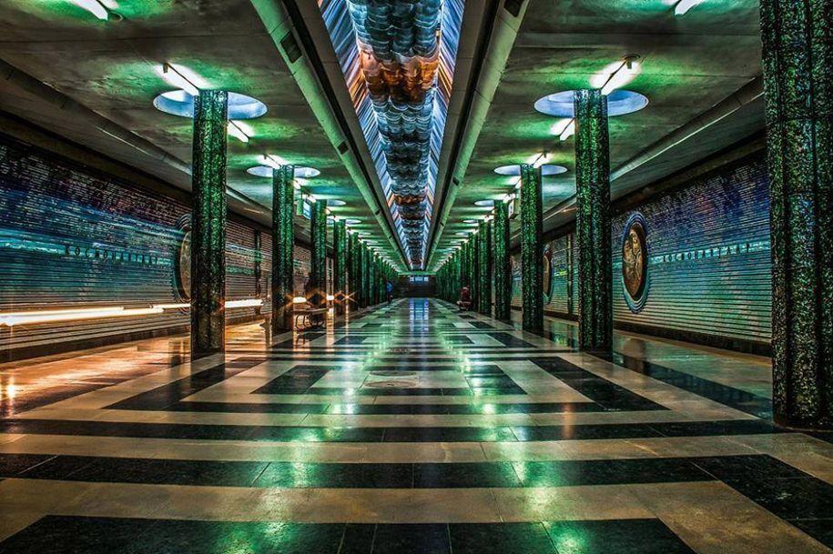 Фото ташкентских станции метро